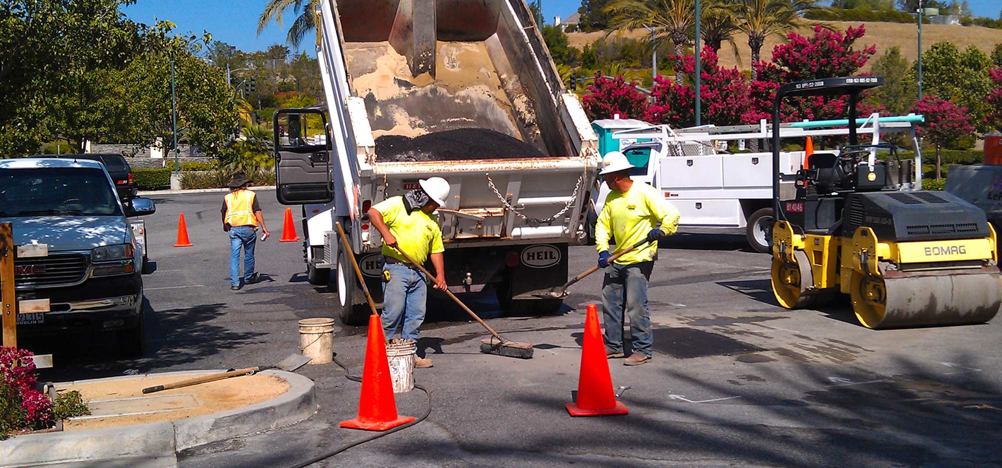 Residential commercial pipeline services water sewer